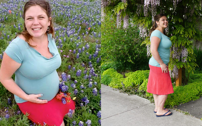 Texture for Maternity Wear